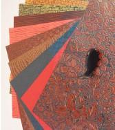 pochette - Urushi ou papier façon cuir 257 x 361 mm