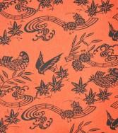 oiseau musicien - rouge