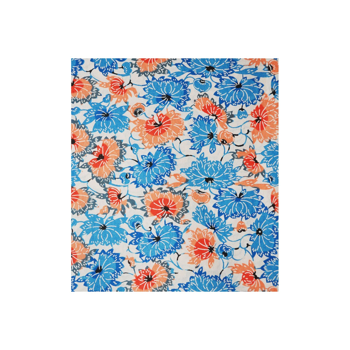 japanese paper origami paper papier japonais katazome katasome chrysanth me bleu. Black Bedroom Furniture Sets. Home Design Ideas