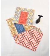 pochette - chiyogami 15 x 15 cm