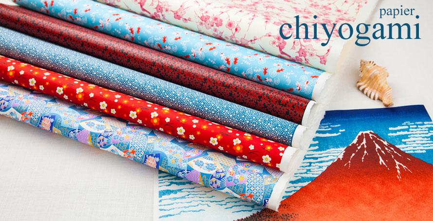 papier japonais chiyogami