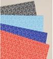 pochette - chiyogami motif vagues 15 x 15 cm