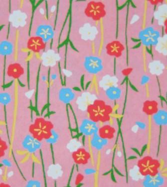 guirlande de fleurs - rose