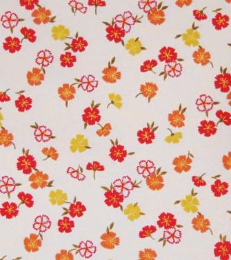 mille fleurs - fond nacré