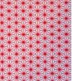 tissu d'étoiles - rouge