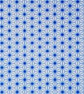 tissu d'étoiles - bleu