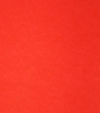 Feuille unie rouge coquelicot - kim en joong