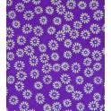 éclosion - doré sur fond violet