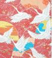 vol de grue - rouge