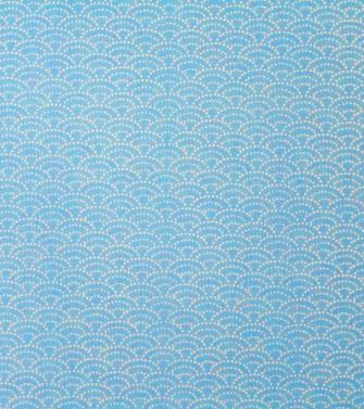 Vague   Pointillés Blancs Sur Fond Bleu Ciel