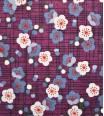 Fleurs d'Etoiles - Violet