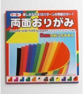 pochette kami double face 15 x 15 cm - 35 feuilles