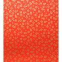 tourbillon - doré sur fond rouge vif