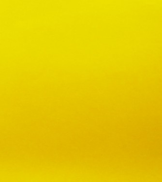 Feuille unie jaune vif - georges mathieu
