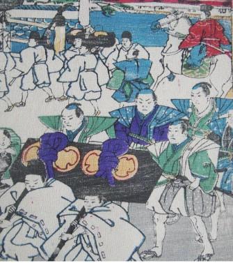 La parade, ca 1880.