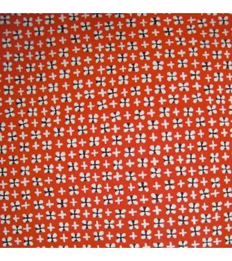 trèfle - rouge moucheté