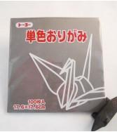 papier Oridzuru - 17,6 x 17,6 cm Grey