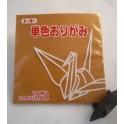 papier Oridzuru - 17,6 x 17,6 cm Ocher