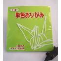 papier Oridzuru - 17,6 x 17,6 cm Light Yellowish Green