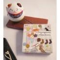 chiyogami collection 7,5 x 7,5 cm - 120 feuilles 30 motifs