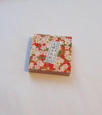 100 feuilles origami - chiyogami 6 cm x 6 cm