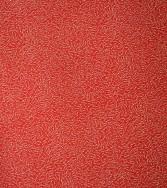 étoile filante  - doré sur fond rouge
