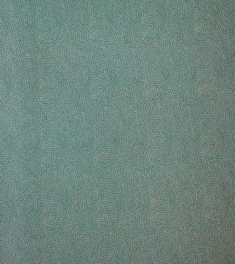 vague de pointillés - doré sur fond vert