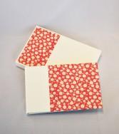 carnet de notes souvenirs de vacances - rose blanche