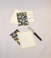 ensemble correspondance petites enveloppes - violette