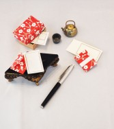 ensemble enveloppes miniatures - cerisier