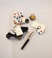ensemble enveloppes miniatures - groseille