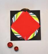 pochette - papier uni gamme chromatique 15 x 15
