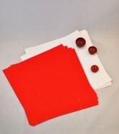 pochette - papier aspect froissé et micacé 25 x 25 double face