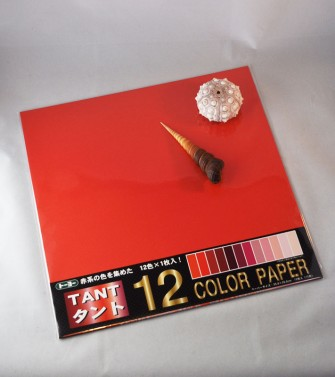 papier Tant 35 x 35 cm - 12 teintes rouges