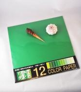 papier Tant 35 x 35 cm - 12 teintes vertes