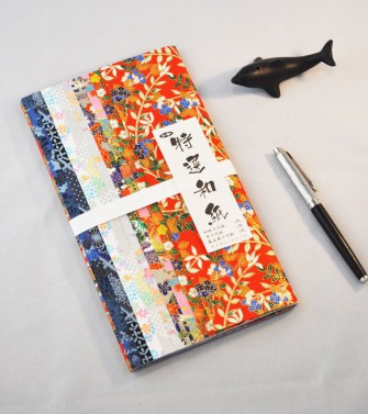 pochette - chiyogami 36,1 x 25,7 cm