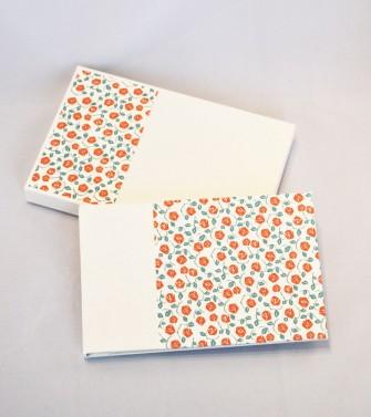 carnet de notes souvenirs de vacances - rose pourpre