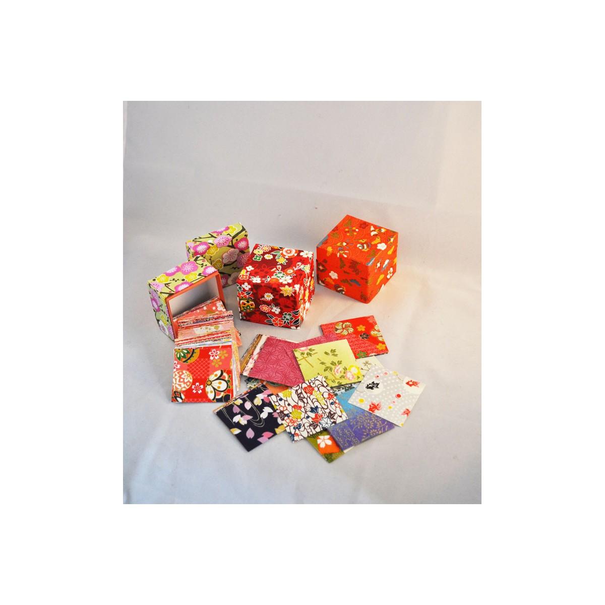 japanese paper - origami paper - papier japonais - chiyogami