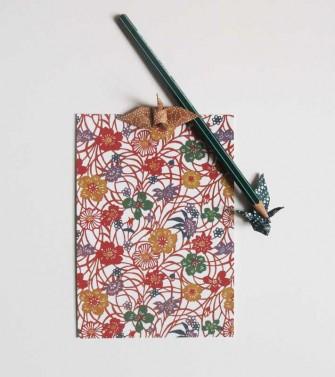 carte postale - entrelacs de fleurs