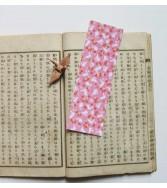 marque-pages - lapin joyeux - rose