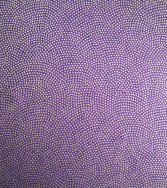 vague de pointillés - doré sur fond violet