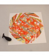 pochette - chiyogami 19,5 x 19,5 cm