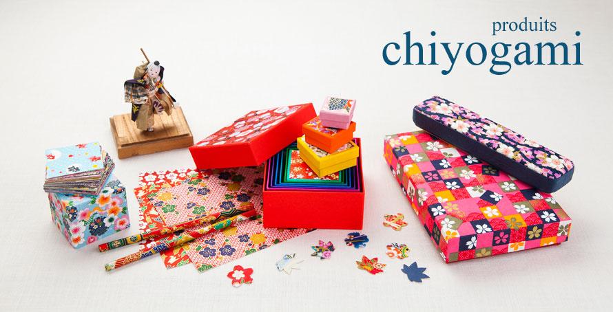 produits en papier japonais chiyogami